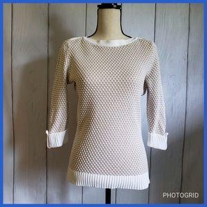 Karen Scott Boat Neck Sweater